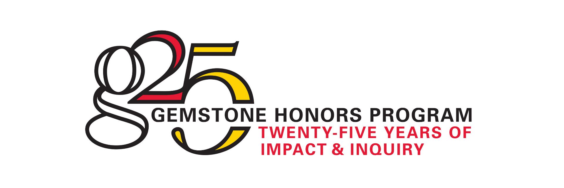 Gemstone 25th logo